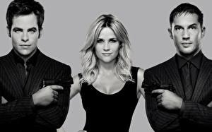 Фотография Reese Witherspoon Tom Hardy Chris Pine Мужчины Блондинка This Means War 0012 Фильмы Знаменитости
