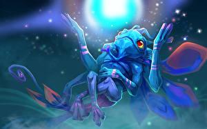 Обои DOTA 2 Монстры Puck Сверхъестественные существа Игры Фэнтези фото