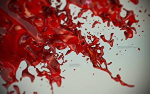Картинка Абстракции Кровь