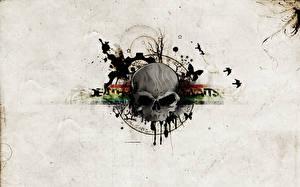 Картинки Логотип эмблема death awaits deathcore thrash france