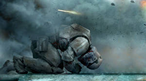 Картинка Звездные войны Солдаты Клоны солдаты Шлема star wars 7 stormtrooper Фантастика