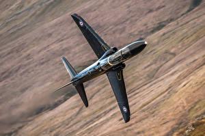 Обои Самолеты Полет Hawk T1A Авиация фото