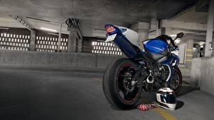 Обои Suzuki Парковка gsx-r1000 Мотоциклы фото