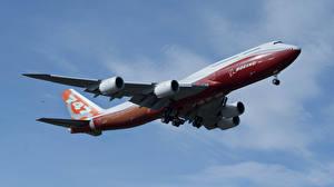 Обои Самолеты Пассажирские Самолеты BOEING 747-800 Авиация Авиация Авиация Авиация фото