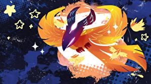 Фотографии DOTA 2 Монстры Волшебство Phoenix Феникс Игры