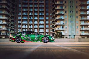Фотография Nissan Тюнинг Сбоку Silvia S15 Formula D Car streets of Long Beach Автомобили