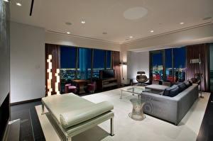 Картинка Интерьер Лас-Вегас Гостиница luxury penthouse palms hotel