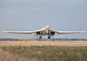 Фото Самолеты Ту-160 Полет Авиация