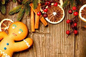 Обои Рождество Лимоны Корица Печенье Еда