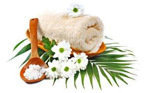 Фотография Ромашка Полотенце Физиотерапия Соли relax towel daisy camomile Цветы