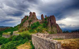 Фотографии Болгария Крепость Горы Belogradchik Природа