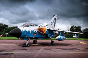 Фото Истребители Самолеты Panavia Tornado German Авиация
