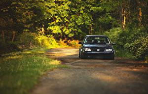 Фотографии Volkswagen Дороги Спереди jetta MK4 машины