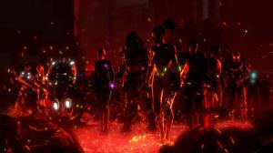 Фотографии Halo Half-Life Mass Effect StarCraft Shepard Sarah kerrigan predator Samus Aran Gordon Freeman characters art Фэнтези