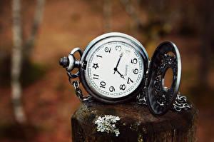 Картинка Карманные часы Часы Вблизи