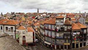 Картинки Португалия Дома Портус Кале Города