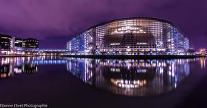Картинки Франция Страсбург European Parliament