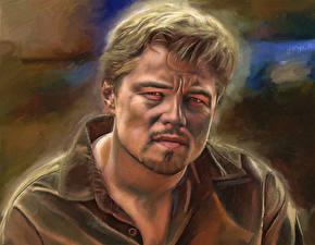 Фотография Leonardo DiCaprio Рисованные Мужчины