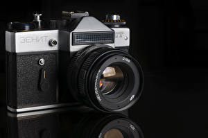 Обои Ретро Крупным планом Фотоаппарат Зенит фото