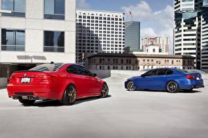 Обои BMW Дома 2 m3 e92 m5 f10 monte carlo Автомобили