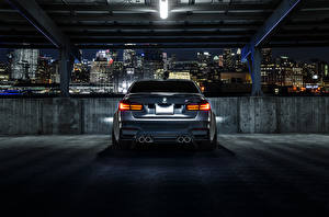 Картинка БМВ Сзади Парковка M3 F80 Mode Carbon Rear автомобиль