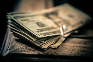 Обои Деньги Купюры Доллары Крупным планом фото