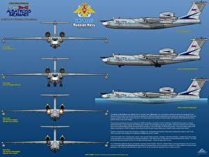 Фотографии Самолеты Beriev A-40 (Be-42) Albatross Mermaid Авиация