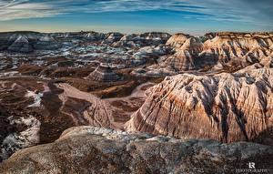 Фотографии Пустыни Горы Парк Скале Природа