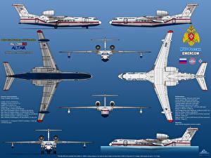 Картинка Самолеты Beriev Be-200ES Altair Авиация