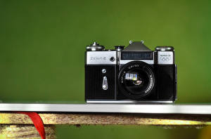 Обои Крупным планом Фотоаппарат zenit фото