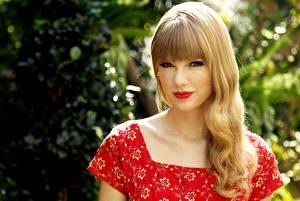 Фото Taylor Swift Мейкап Блондинка Знаменитости Девушки