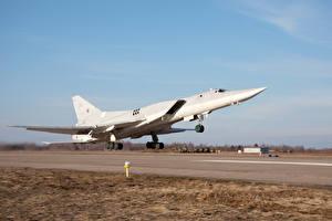 Картинка Самолеты Взлет Tupolev Tu-22M