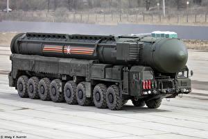 Картинка Россия День Победы Военный парад рс-24 Strategic Missile Troops Армия