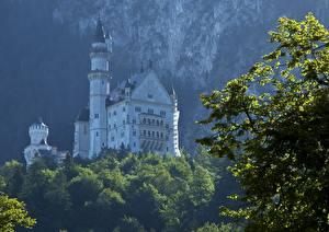 Фотография Германия Замки Нойшванштайн Бавария Города