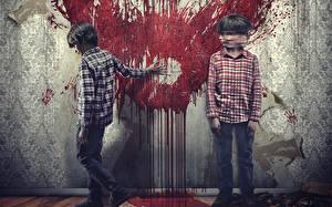Фото Кровь 2 Стена Sinister 2, 2015 Фильмы Дети