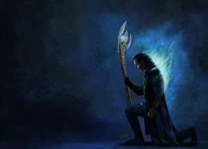 Фотографии Мстители (фильм, 2012) Tom Hiddleston Loki Фильмы Фэнтези Знаменитости