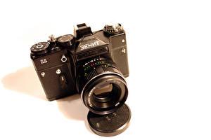 Обои Ретро Крупным планом Фотоаппарат zenit фото