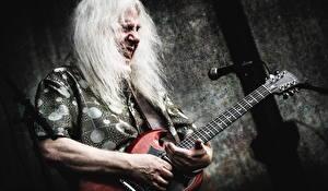 Фотографии Мужчины Гитара Howard Glazer Знаменитости
