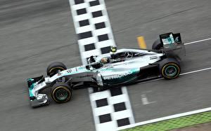 Фото Формула 1 Мерседес бенц Nico Rosberg AMG W05 Hybrid V6 1.6l Turbo Hokenheim 2014 Автомобили