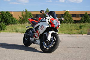 Картинки Suzuki - Автомобили gsx-r750 lucky strike