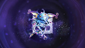 Обои DOTA 2 Puck Сверхъестественные существа Игры Фэнтези фото