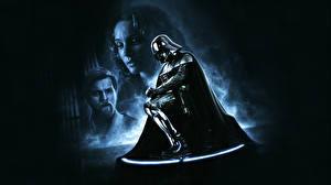 Фотографии Звездные войны Дарт Вейдер Шлем Фильмы Фэнтези