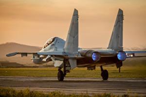 Обои Истребители Самолеты Су-30 Авиация фото