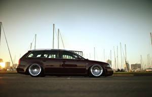 Фотография Audi Сбоку Универсал rs4 avant wagon