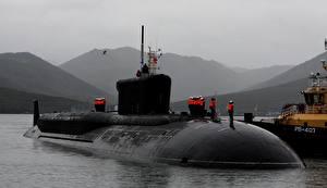 Фотография Подводные лодки Borei-class submarine военные