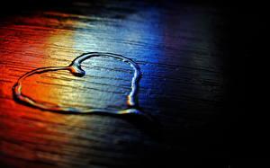 Картинки Вода Любовь Сердечко