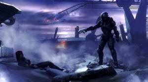 Фото Mass Effect Солдаты Fan ART shepard normandy Фантастика Фэнтези