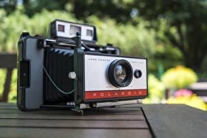 Обои Ретро Крупным планом Фотоаппарат Polaroid фото