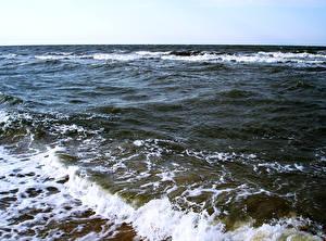 Фотография Море Воде Горизонт Природа