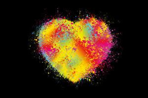 Картинка Абстракционизм Сердце